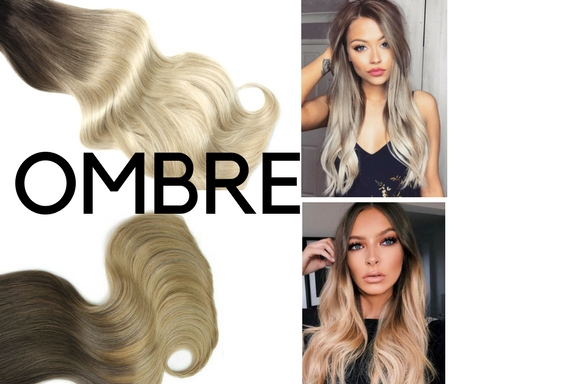 Clip in Extensions Ombre 50cm
