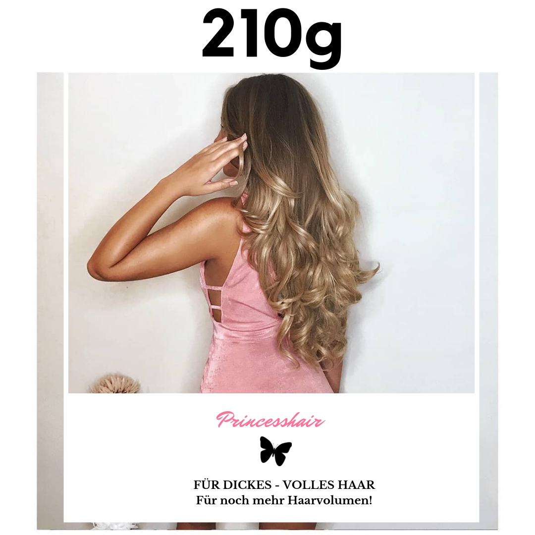 210g Clip in Extensions