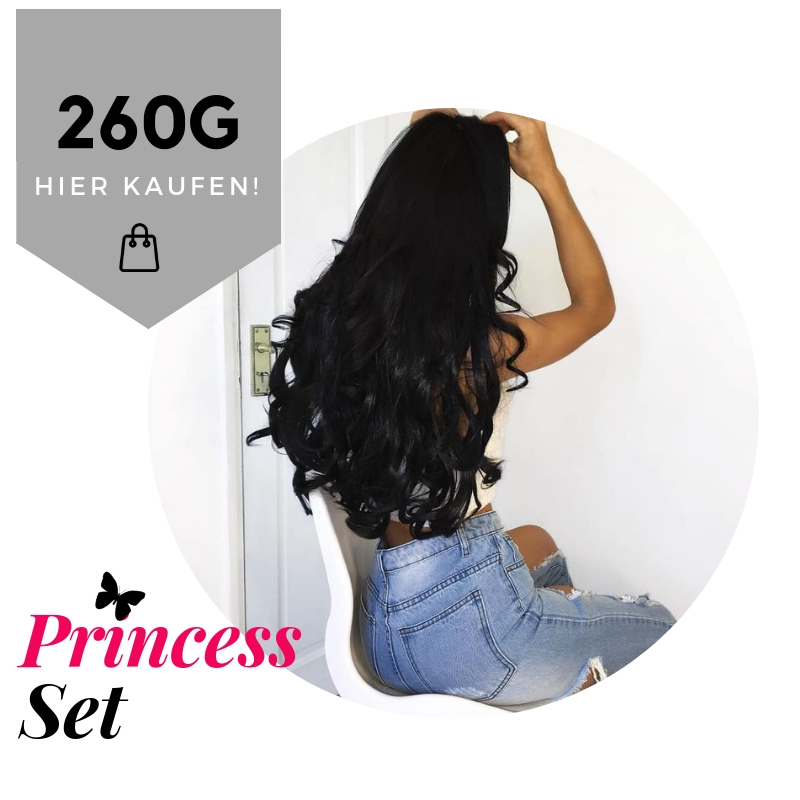 55cm/260g Clip in Extensions DELUXE SET