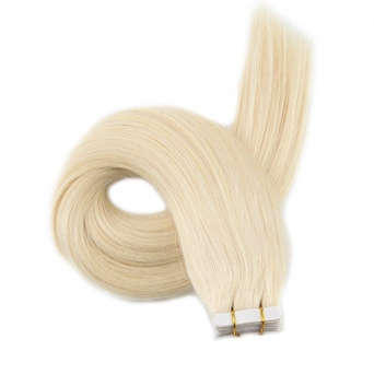 Tape Extensions Echthaar #613 Blond 40x Tape-on-Extensions