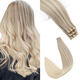 Tape Extensions - Echthaar #613 Blond 20x Tape on Extensions