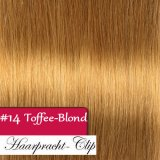 200g Clip in Extensions Human Hair 8 pices in a set Blonde #14