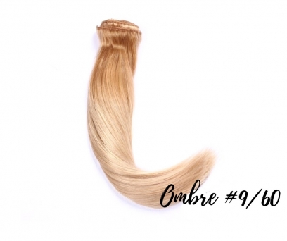 150g Clip in Extensions Human Hair 8 pices in a set - Blond # 61