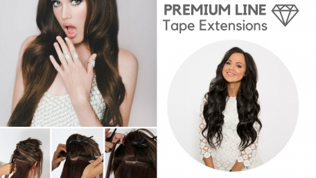 Tape Extensions - Echthaar #8/613 OmbreBrown-Blond 60x Tape on Extensions